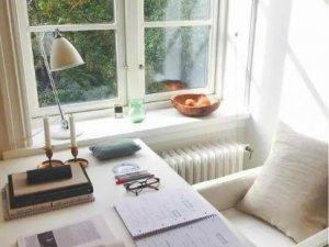 书房白色实木窗图片 欧式实木门窗图片大全集