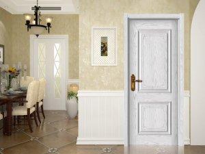 金凯德实木复合门 金凯德室内白色烤漆门