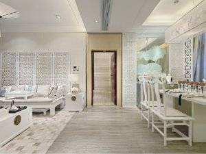 新中式卧室木门效果图 纯实木门图片大全
