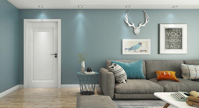 幸福家·欧派门加盟产品 简约风格爆款白色卧室门图片大全