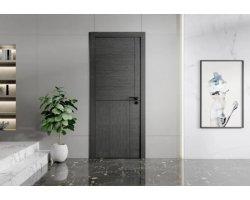 双羽木门-时尚灰色系地板-木门装修图片赏析