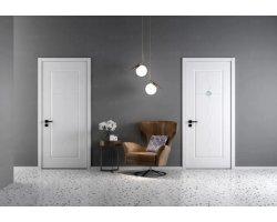 双羽木门  现代简约风格室内门卧室门图片