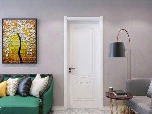 展志天华定制家居 实木油漆门系列产品效果图
