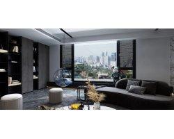 三峰静音门窗臻彩系列-彩色卧室门-门窗图片