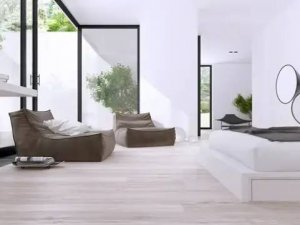 大富豪木门产品 木门现代风家居装修效果图