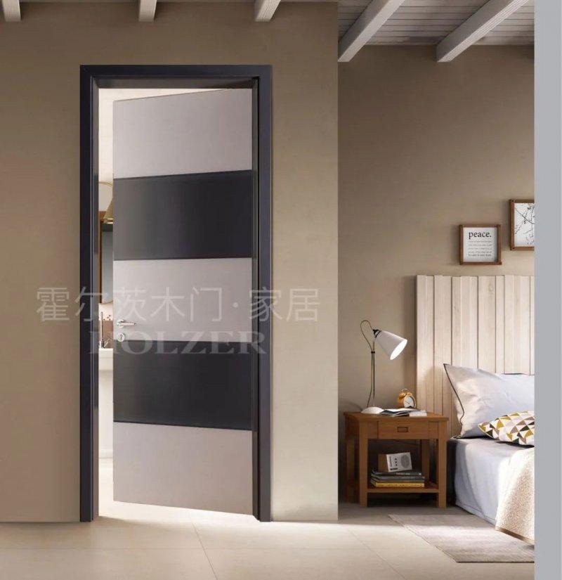 霍尔茨木门灰色系列 木门装修效果图_2