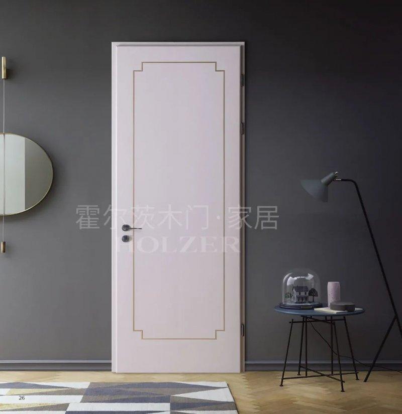 霍尔茨木门灰色系列 木门装修效果图_9